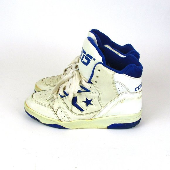SOLD VTG 80s Converse High Top Basketball Shoes Retro 1980s Vintage NBA Sneakers